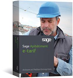 Sage Apibatiment E-tarif